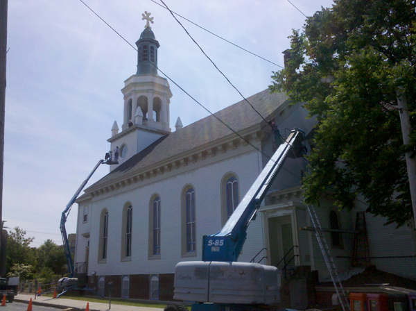 FRAMINGHAM –CHURCH EXTERIOR RESTORATION PROJECT COMPLETED